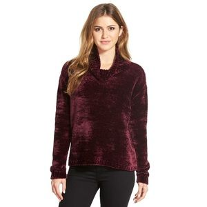 Vince Camuto Chenille Turtleneck Sweater